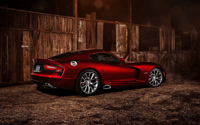 Red Dodge Srt Viper Gts 2013 Car Wallpaper