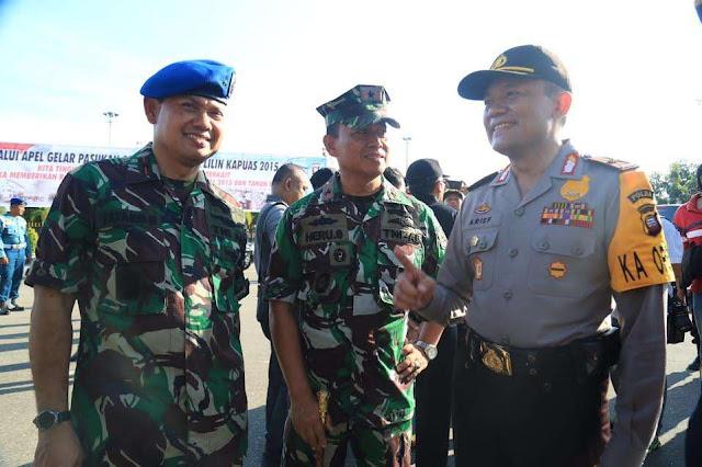 Brigjen Arief Membangun Koalisi dengan TNI, Bea Cukai, dan Kajati Kalbar