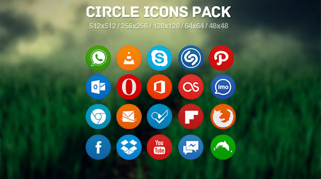 35 Beautiful Free Flat Icons Sets that You can Use