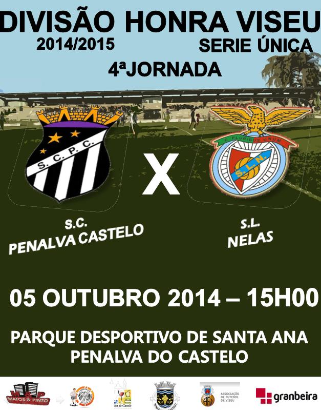 Agenda Seniores - Próxima Jornada - Temporada 2014|15: