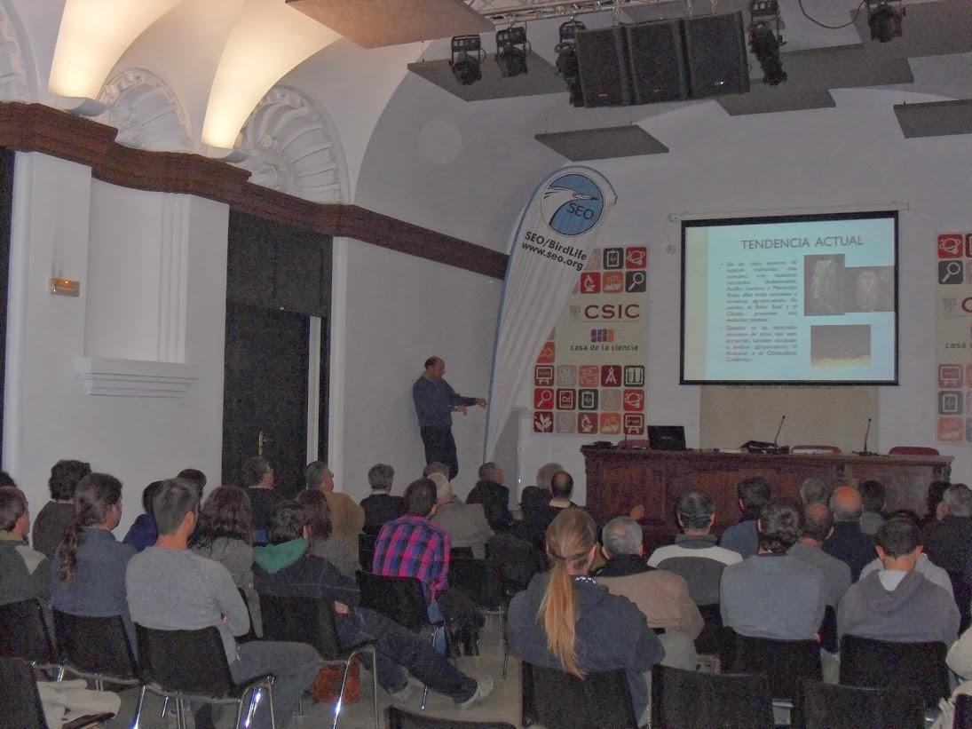 """Conferencia """"Rapaces Nocturnas y el Programa NOCTUA"""". Paco Chiclana"""