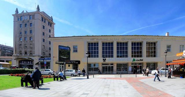 Estacion de RENFE de Santander