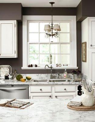 perfect gray gray kitchen walls