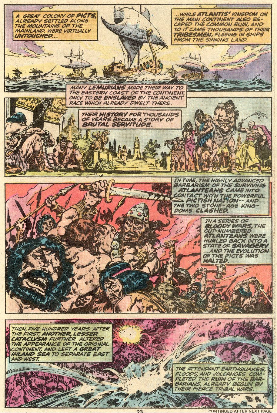 Conan the Barbarian (1970) Issue #87 #99 - English 15