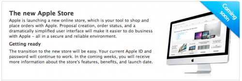 New apple store online coming soon