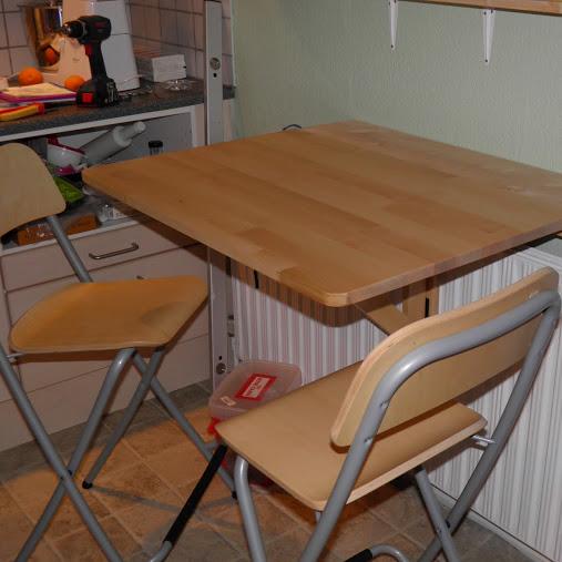 Home by bianca: ikea klapbord med et lille tvist