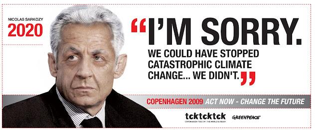 Sarkozy et le climat : échec de la conférence de Copenhague (COP15) en 2009