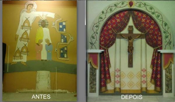 Igreja Jesus de Nazaré - Complexo da Maré - RJ