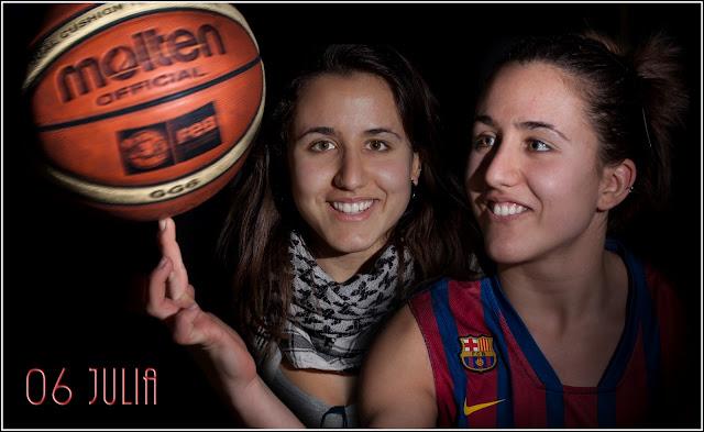Barça-CBSantfeliuenc A (2010-2011): 06 Julia