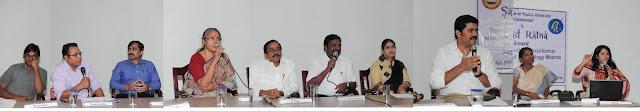 PK Saravanan (student), Prem Shankar (Puthiya Thalaimurai TV), V Ponraj (Advisor to Dr Abdul Kalam), U Vasuki (CPIM), H Raja (BJP), Thol Thirumavalavan MP (VCK), Vijayadarani MLA (Congress), Ch. Sekar MLA (DMDK), Josephine (Academician) and Bhanu Gomes (anchor)