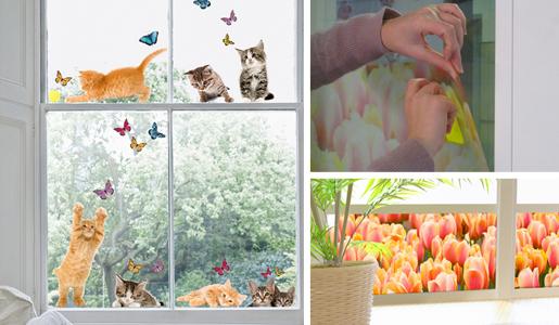 Il blog di manu deko ide adesivi decorativi per pareti e oggetti della tua casa - Adesivi natalizi per finestre ...