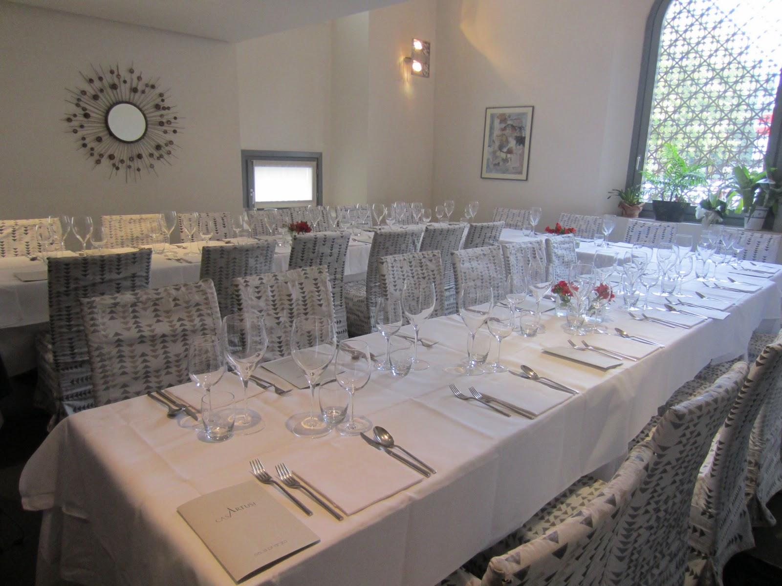 La Sala Da Pranzo Poco Prima Che Venisse Invasa Da Gente Affamata #7F6A4C 1600 1200 Come Addobbare Una Sala Da Pranzo Per Natale