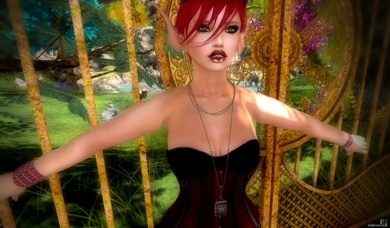 Second Life Role-Play Fashion Review