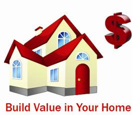 build value in your home, add value, adding value to your house renovation, collage by wobuilt.com