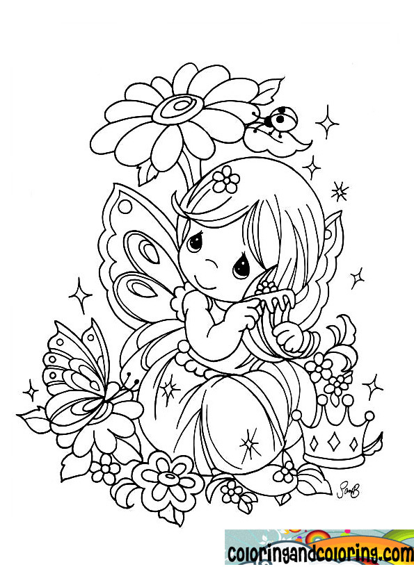 my precious moments coloring pages - photo#30