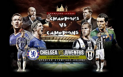 Futbool Chelsea Juventus Group Uefa Champions League