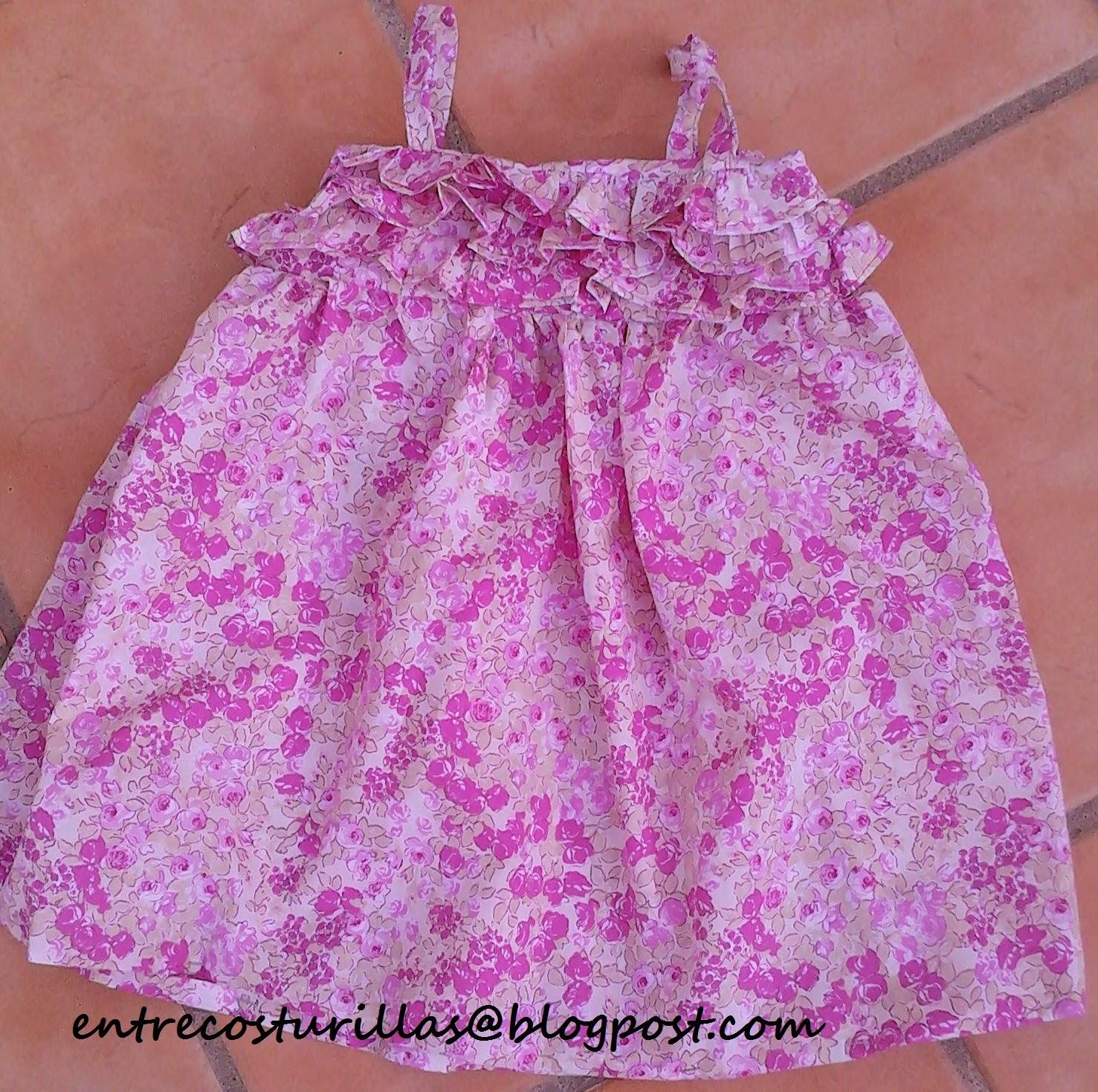 Patrones de vestidos para bebe de 6 meses
