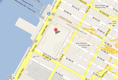 Jacob Javits Convention Center Location Map