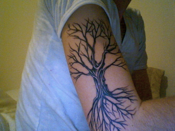 Gombal tattoo designs tattoo designs of dead trees for for Death tree tattoo