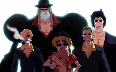 Straw Hats Pirate Beard a650