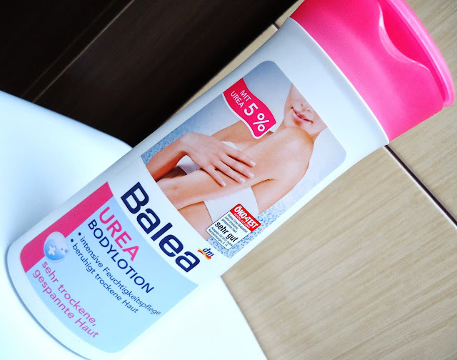 Balea- Balsam do ciała z mocznikiem, czyli ratunek dla suchej skóry... i włosów!