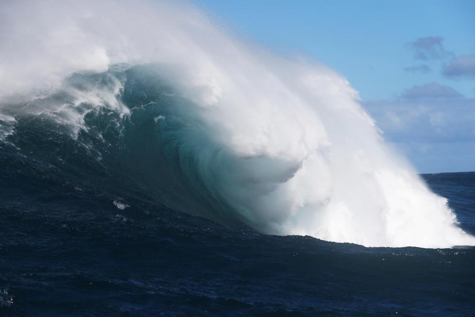 3 Pe ahi wave Peahi Challenge 2015 Foto WSL Kirstin Scholtz