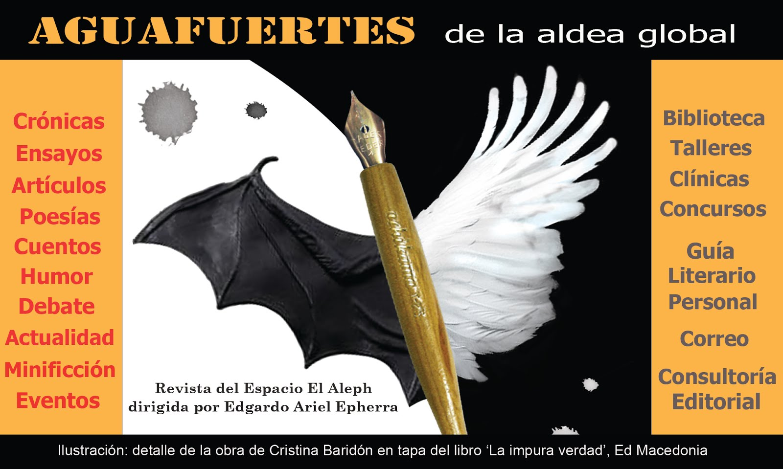 AGUAFUERTES de la aldea global