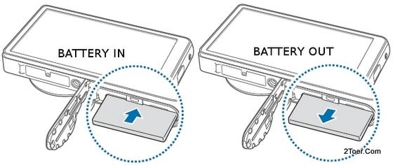 Assemble Insert Remove Battery Samsung Galaxy Camera EK GC100