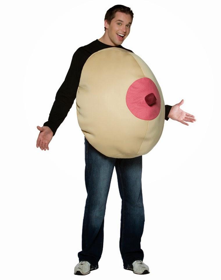 Boob costume