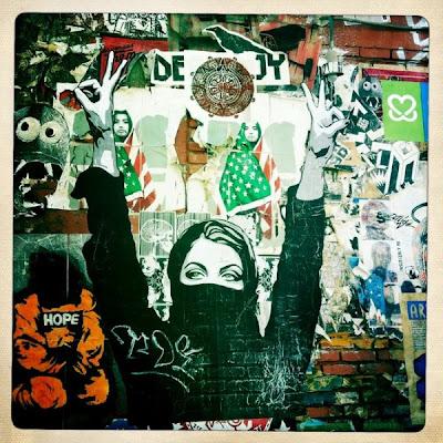 street art - murals - american graffiti