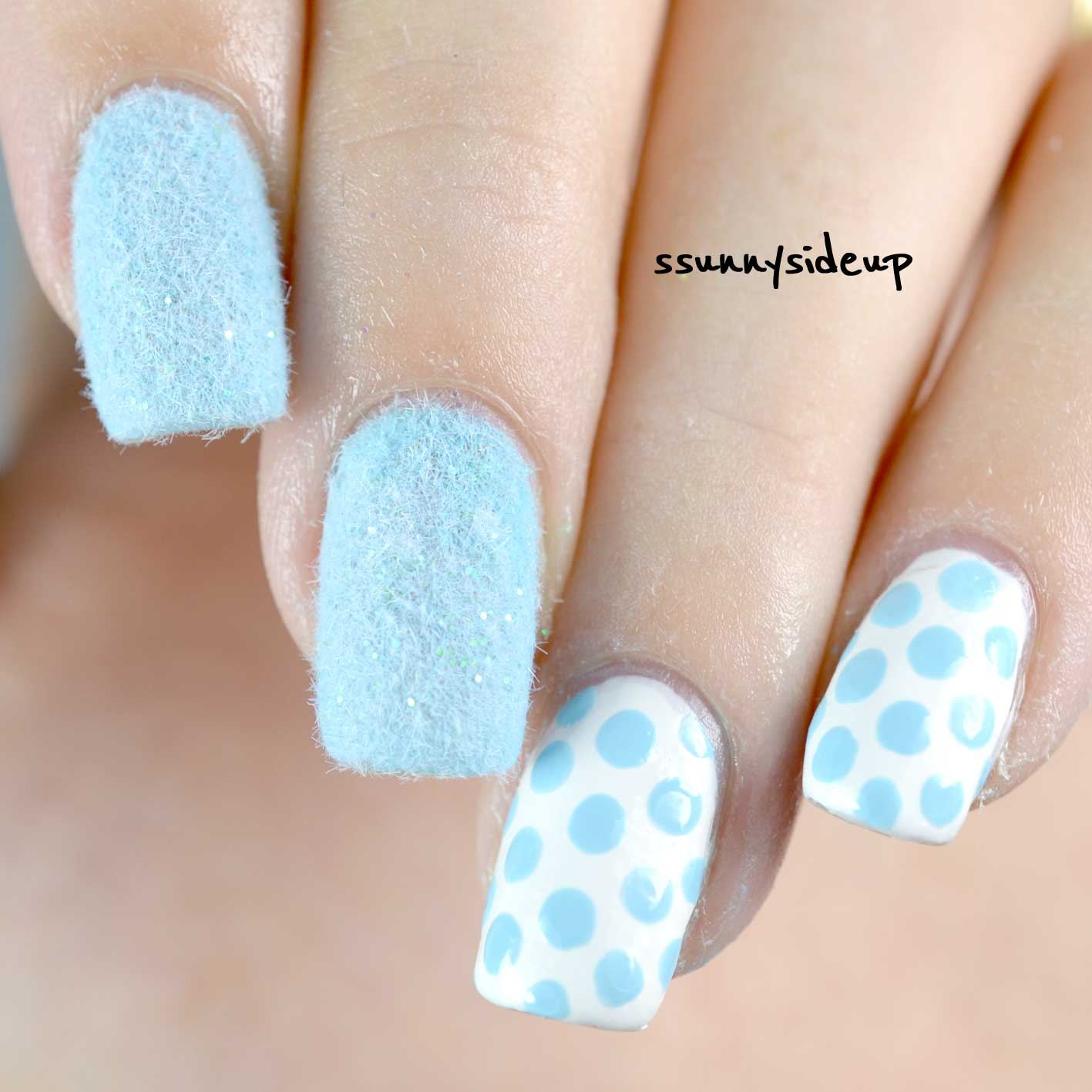 ssunnysideup: Furry nails