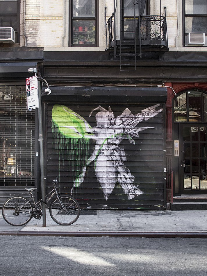 Good Ludo creates new works on the streets of New York City