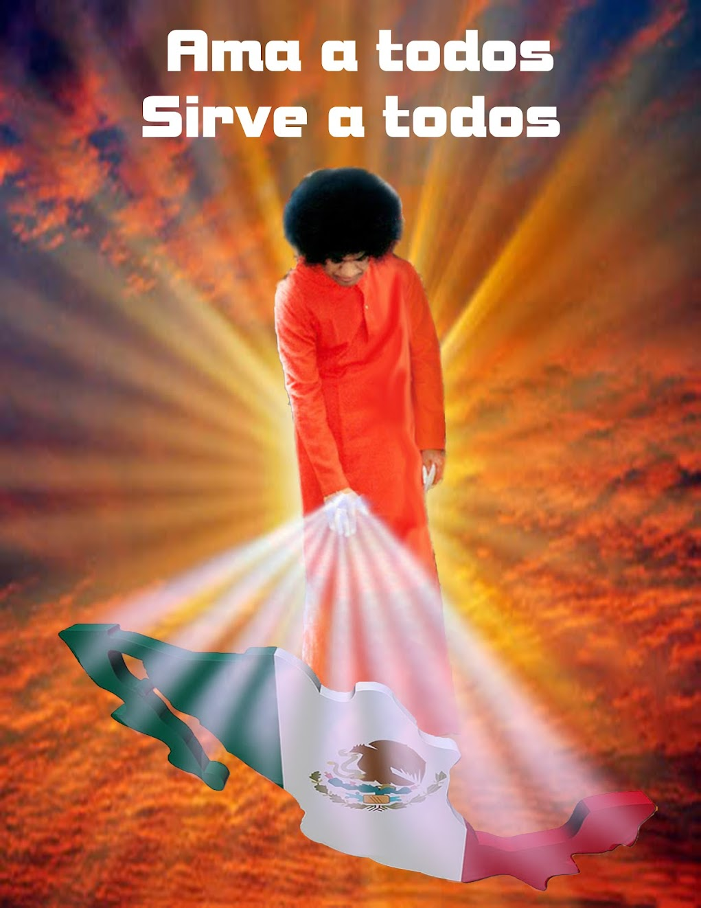 SWAMI BENDICIENDO A MEXICO