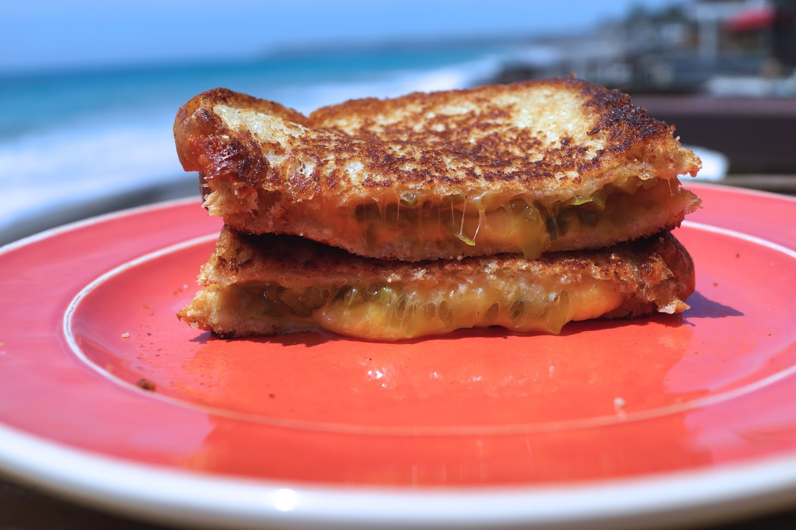 You also might like this Grilled Cheese and Pickle Panini