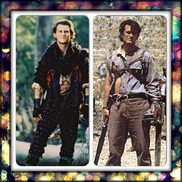 Speaking of Bruce Campbell, he and Christian Slater were my first crushes.