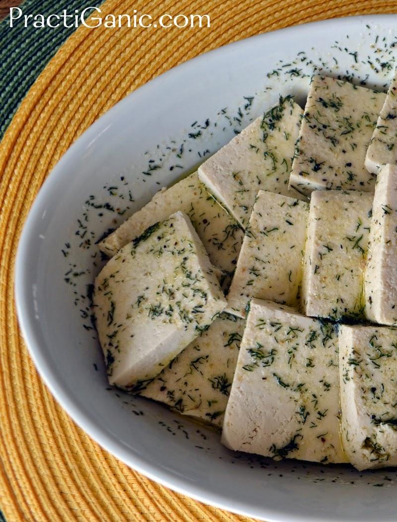 Lemony Dill Tofu