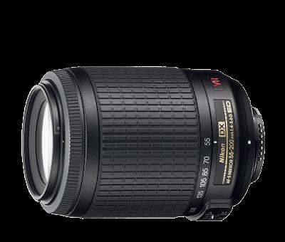Lensa Nikkor AF-S DX VR 55-200mm f/4-5.6G IF-ED