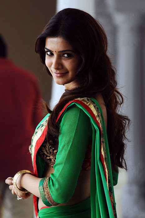 samantha saree from dookudu movie, samantha