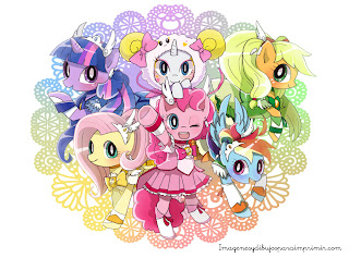 mi pequeño pony en dibujo anime Dibujos de mi pequeño pony para imprimir