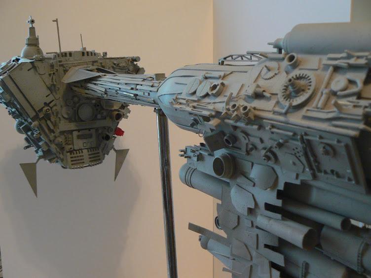 Frégate médicale rebelle, maquette 120cm