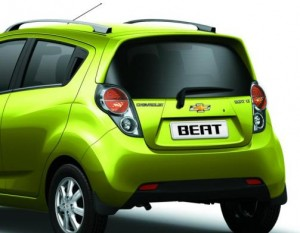 chevrolet beat rear view
