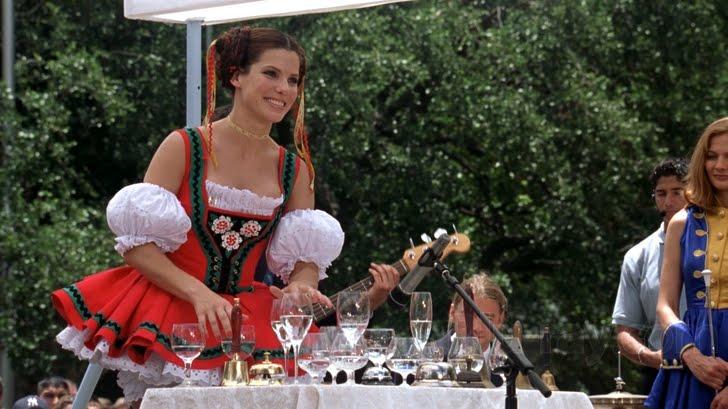 Sandra Bullock, miss congeniality water glasses