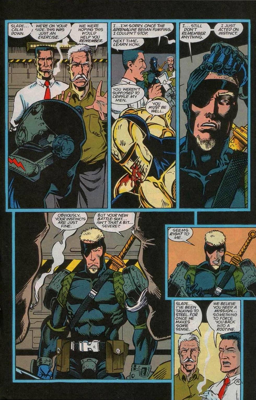 Deathstroke (1991) Issue #55 #60 - English 16