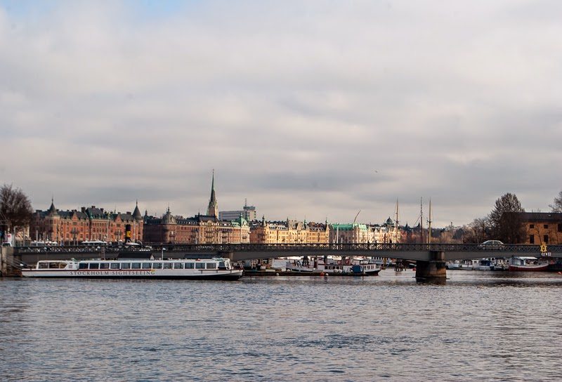 view of stockholm from its old town