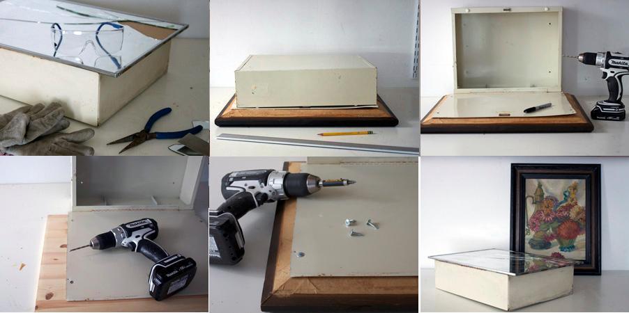 Gabinetes De Baño Imagenes:Como reciclar un gabinete de baño