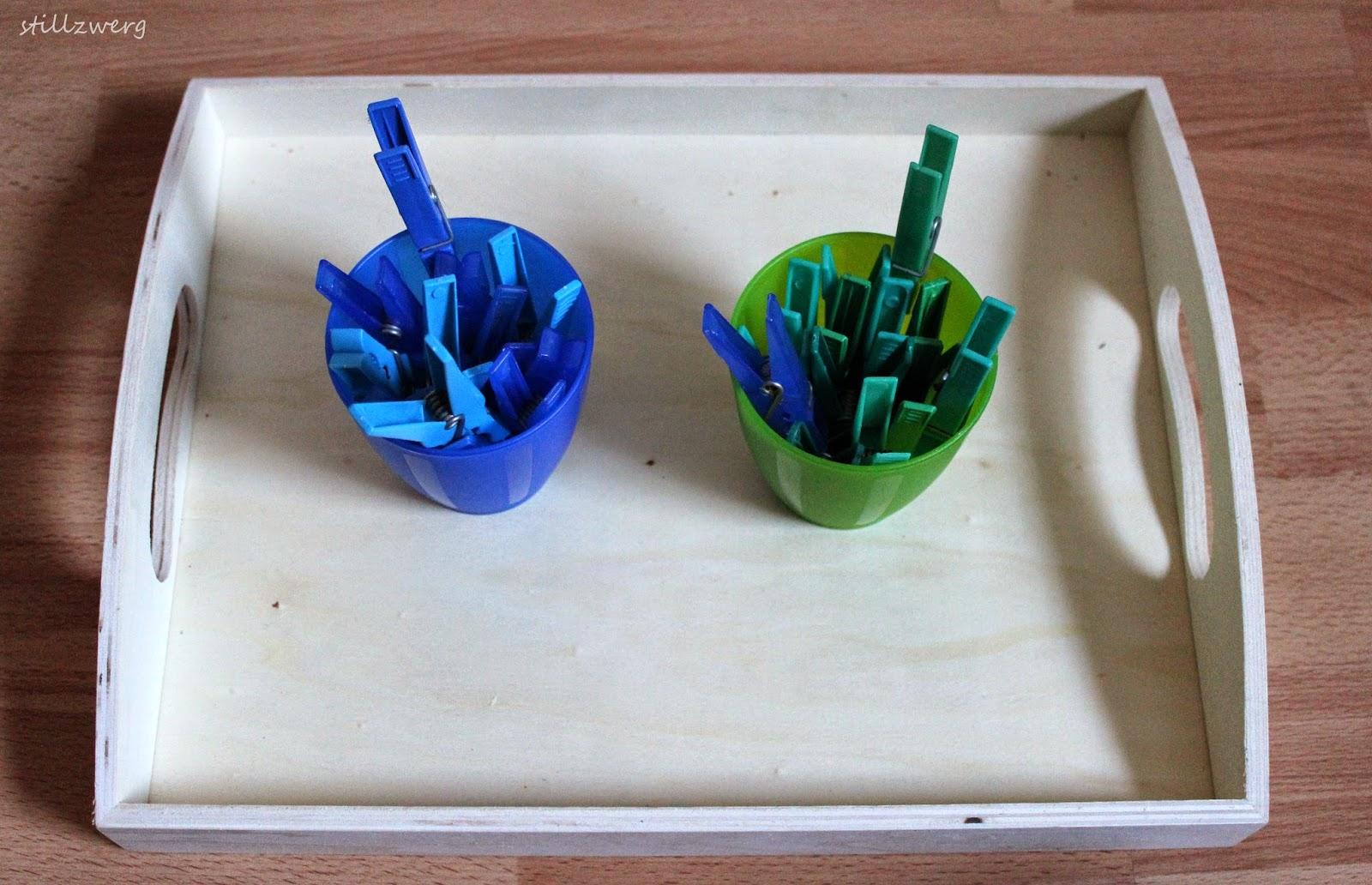 der stillzwerg sortier bung nach farbe blau hellblau gr n t rkis. Black Bedroom Furniture Sets. Home Design Ideas