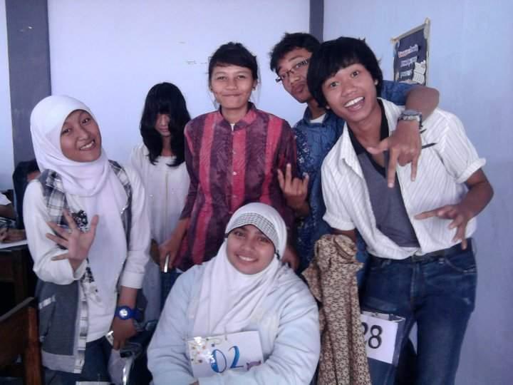 setelah ujian praktik drama bahasa Jawa