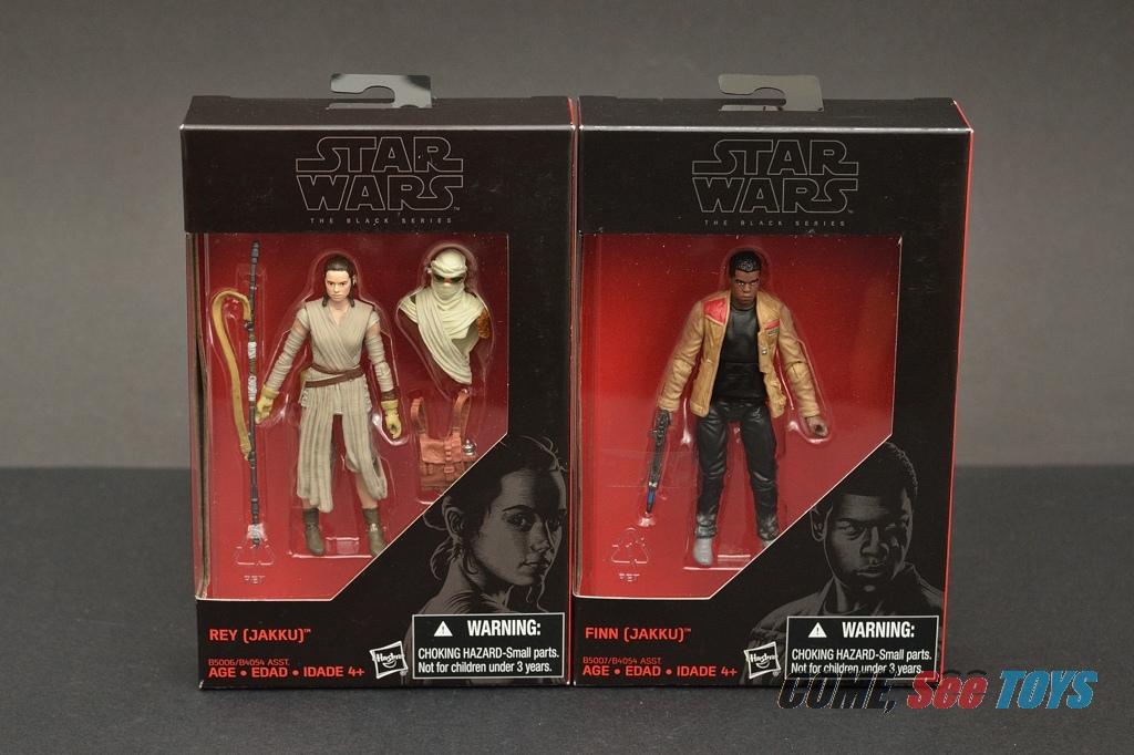 "Jakku Star Wars The Black Series 3.75/"" Finn multicolore 3.75/"" NEUF"