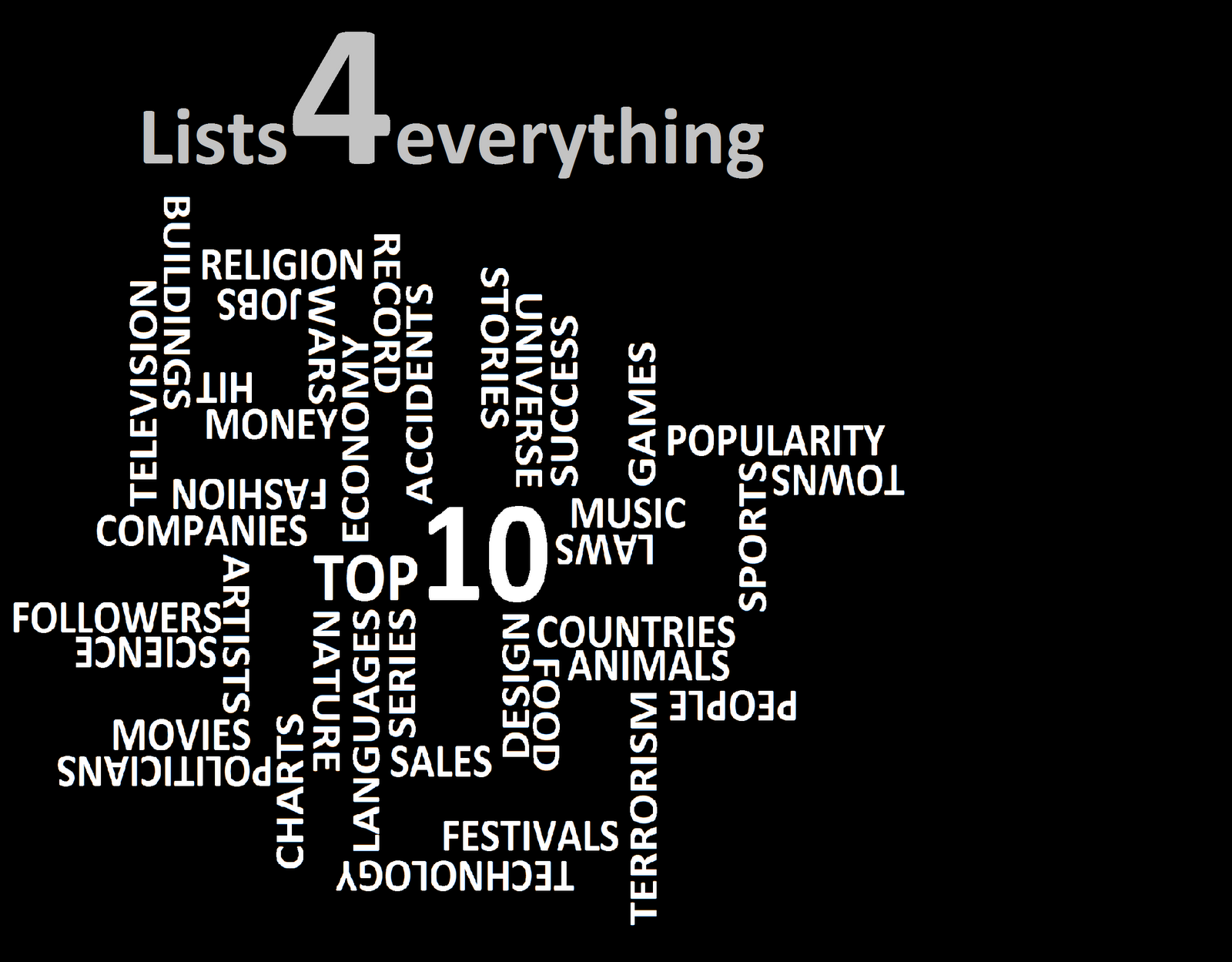 Lists4everything