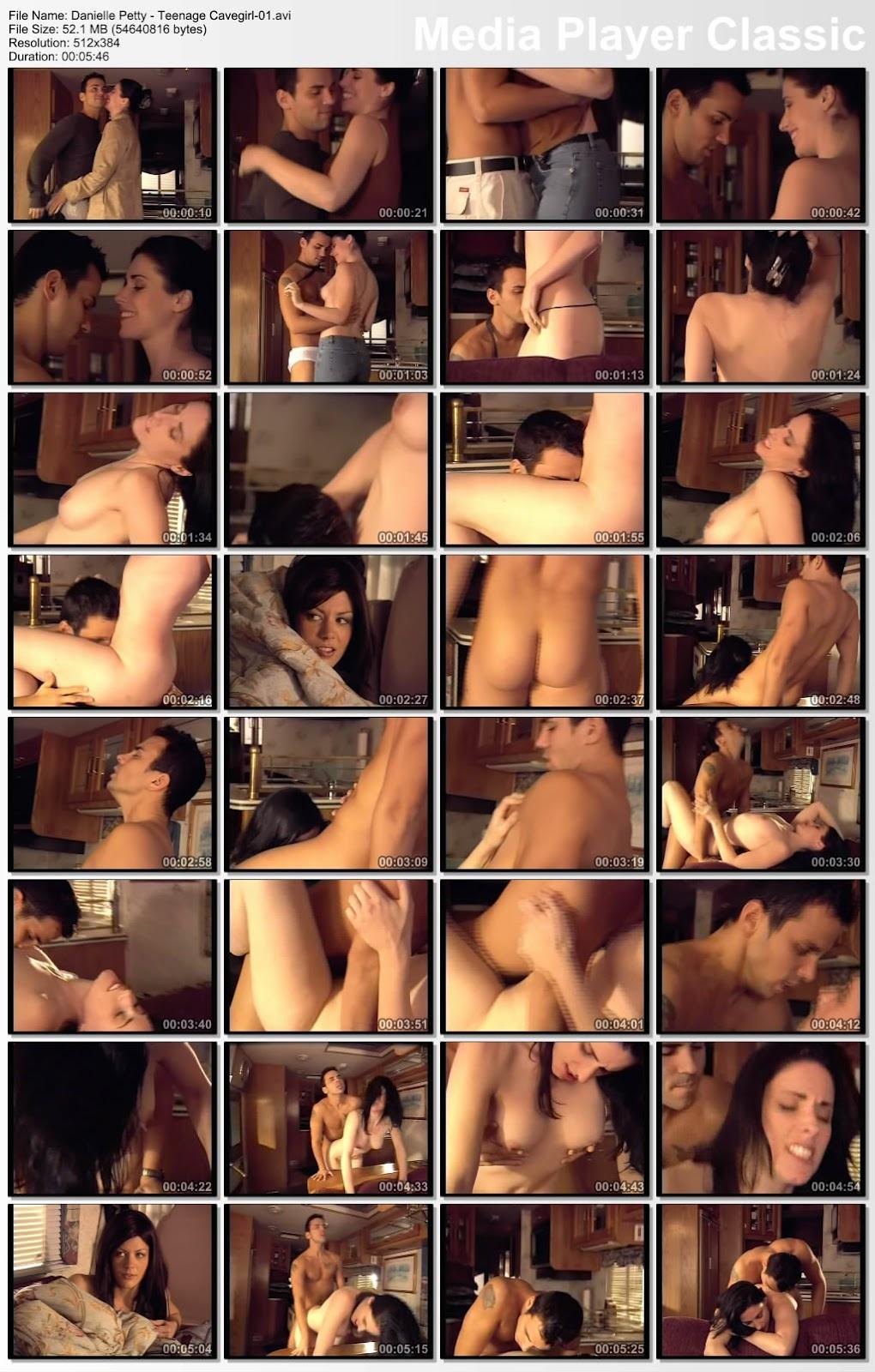 Danielle Petty - Teenage Cavegirl Sex Scene